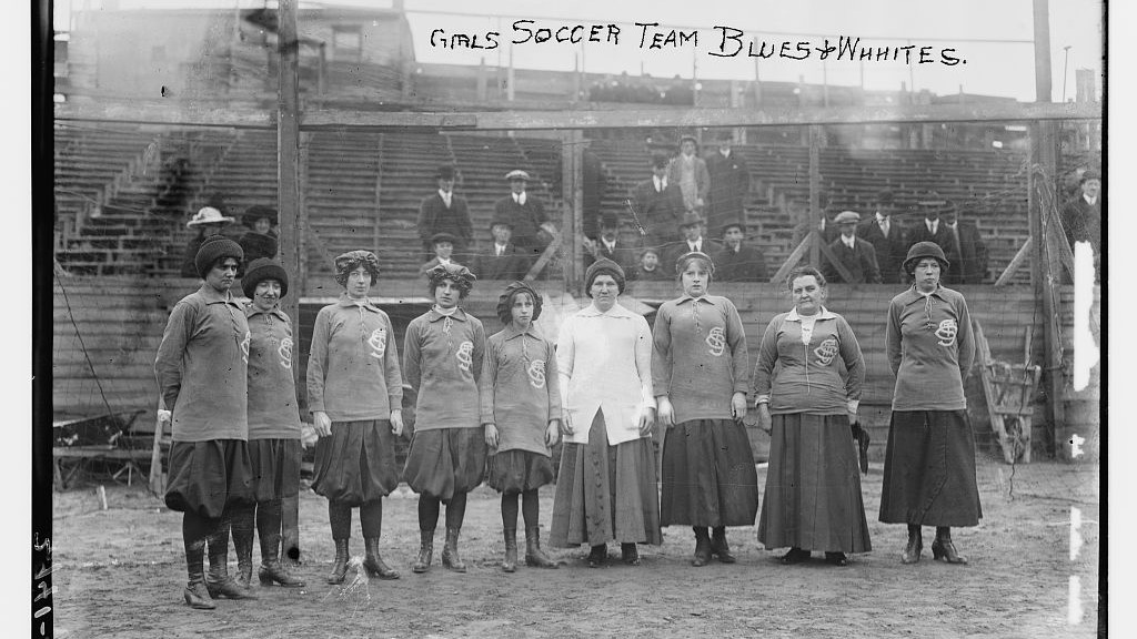 Girls Soccer Team - Blues and Whites